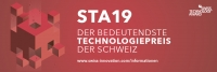 Wir gehören zu den Finalisten des Swiss Technology Award 2019!